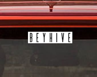 BEYHIVE Beyonce Decal...Free Shipping in U.S.