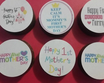 24 FATHERS Day edible image lollipops or oreos