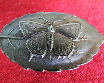 Avery Butterfly Needle Case - W. Avery & Son - Redditch, England