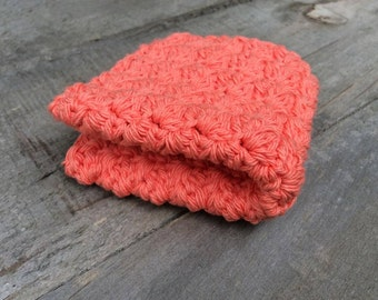 Fruity Cotton Crochet Dishcloth