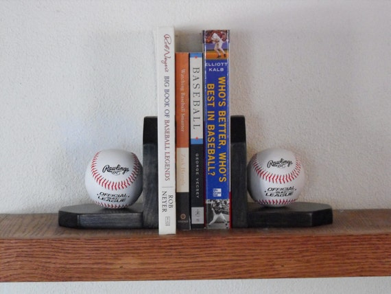Baseball Bedroom Collection Includes Lamp Shelf Coat Hook Bookends