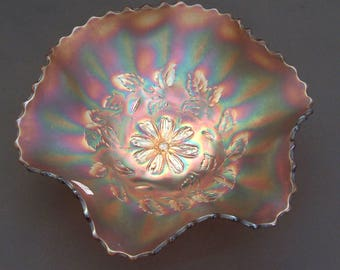 Dugan 'Cosmos Variant' ruffled bowl
