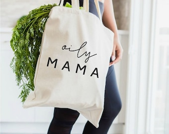 oily mama, oily bag, essential oils bag, essential oils, tote bag, EOs, young living, doterra, there's an oil for that, essential oil gift