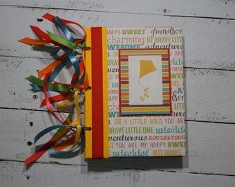 Grandson Scrapbook Mini Album 6x8