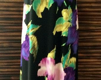 Long Floral Tank Dress