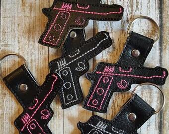 Handgun Key Chain