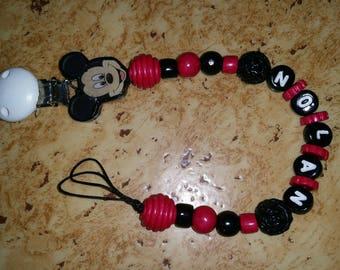 Pacifier mickzy customize handmade