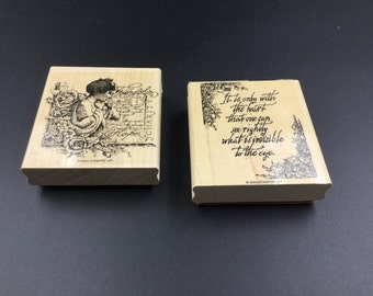Set of 2 Stampin Up Stamps