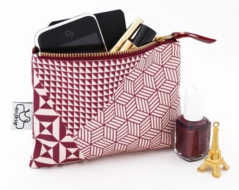 Zipper pouch with an original ANJESY design