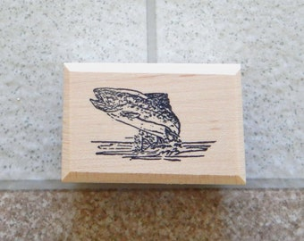 """Trout Small - 1"""" tall x 1.75"""" wide - 1 pc - SUT - D824"""