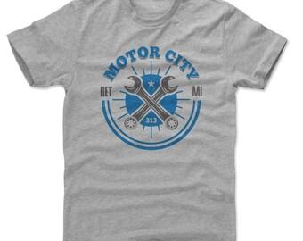 Detroit Shirt | Destinations & Michigan | Men's Cotton T-Shirt | Detroit Michigan Motor City