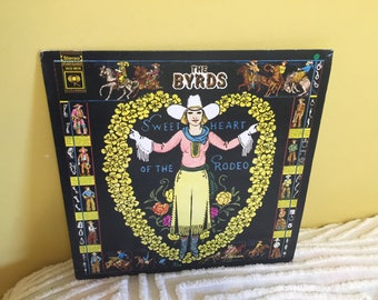 The Byrds Sweetheart of the Rodeo Vinyl Record Album NEAR MINT condition