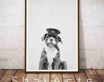 Dog Portrait, Pet Portrait, New Baby Dog, Baby Animal Prints, Dog Bedroom, New Baby Nursery Art, Baby Animal Prints, Playroom Decor, Dog Art