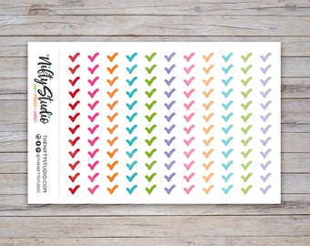 Checkmark Stickers | Planner Stickers | The Nifty Studio [107]