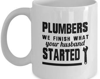 Plumber Mug, Plumber Gift, Plumber, Gift For Plumber, Plumber Gifts, Mug For Plumber, Gift For Him, dad Mug, Gift For Coworker, Occupation