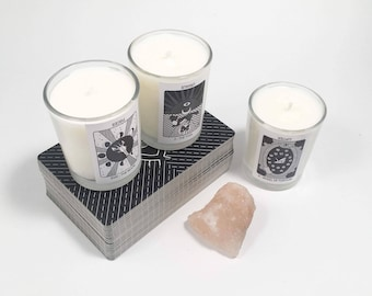 Tarot Soy Candle - 2 Ounce Glass