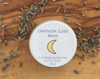 Natural Sleep Balm, Lavender Sleep Balm