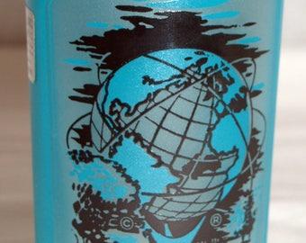 Unisphere New York World's Fair glass 1960s souvenir