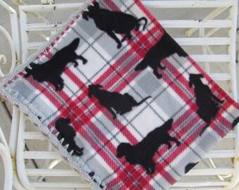Dog Blanket - Fleece Dog Blanket - Crate Blanket - Pet Blanket - Small Dog Blanket - Dog Bed