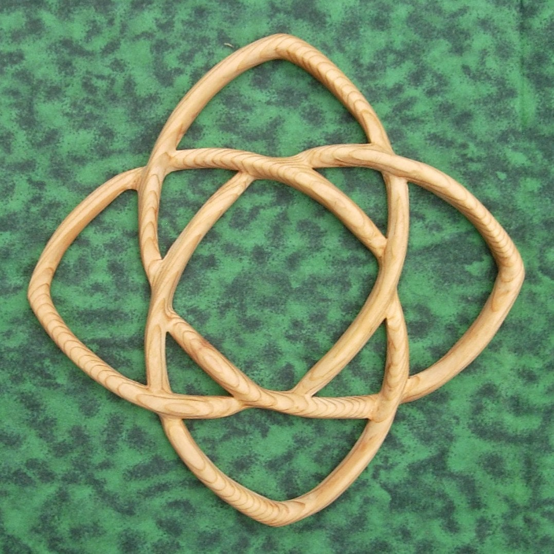 Knot of healing health wellness wood carved celtic knot zoom buycottarizona Images