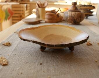 Wood apple bowl, fruit bowl, turned wood bowl, wooden bowl, salad bowl, serving bowl, handcrafted bowl, mango wood bowl, decorative bowl