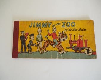 Vintage Jimmy the zoo by Neville Main - 1950s
