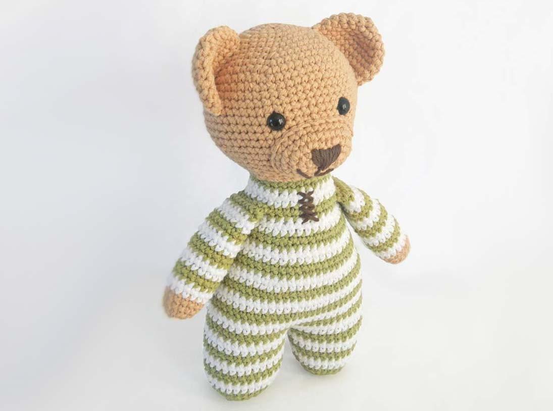 Easy Amigurumi Crochet Patterns : Amigurumi crochet patterns for crochet teddy bear pattern how to
