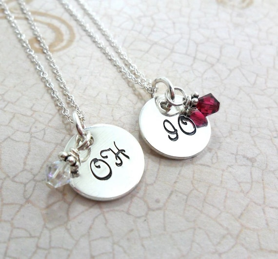 Ohio State Necklaces | The Ohio State University | Best Buckeye Friends | Ohio State Jewelry | Game Day Jewelry | School Spirit | Grad Gift