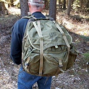 Military Backpack Large Alice Pack Army Surplus Bug out Bag