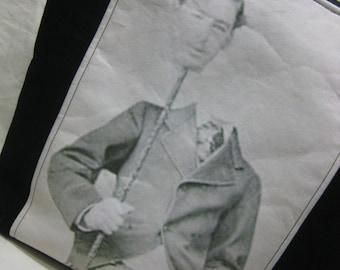 Vintage Halloween Photo Tote Bag - Headless Gentleman