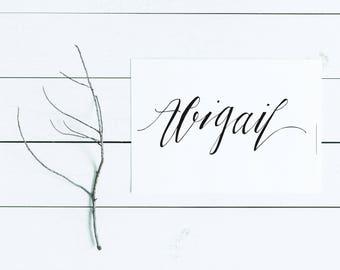 Abigail | Nursery Art | Baby Name