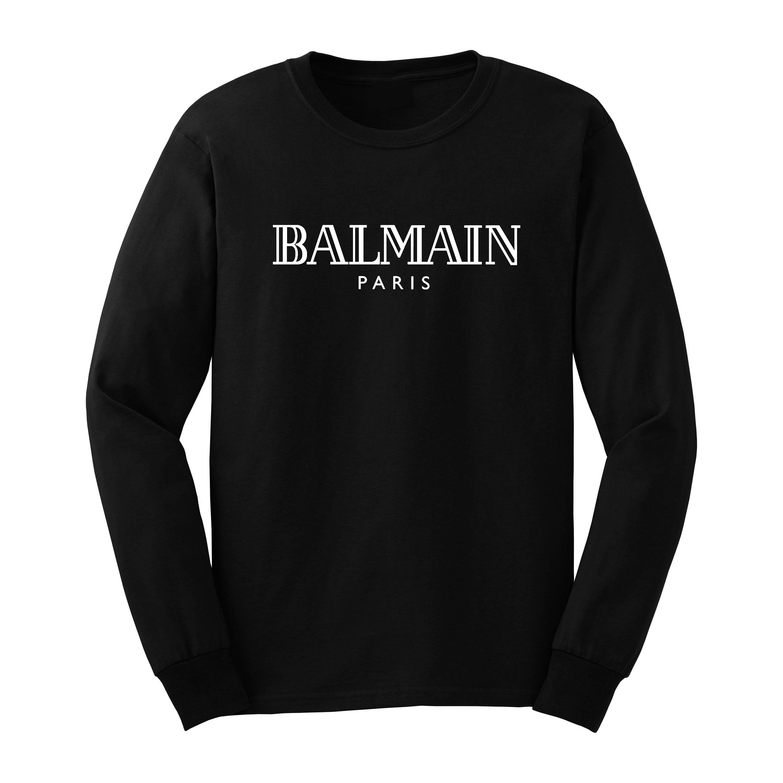balmain long sleeve shirt