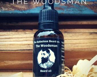 The Woodsman - beard oil - The Audacious Beard Co