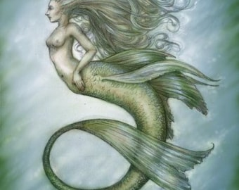 Blue Mermaid by Renae Taylor