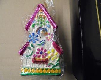 Bluebird Suite Christoper Radko Ornament Still in Packaging