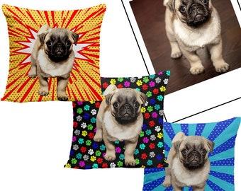 Custom Pet Pillows | Custom Dog Pillows | Animal Pillows | Cat Pillows