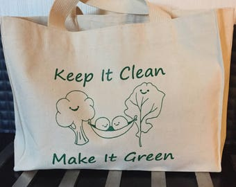 Keep It Green Totte