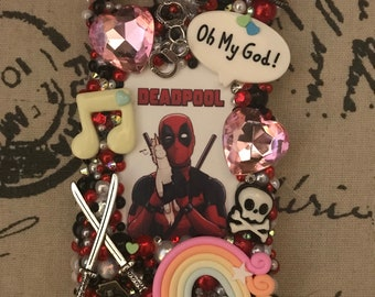 Deadpool iPhone Samsung Phone Case