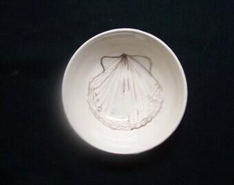 little scallop shell bowl