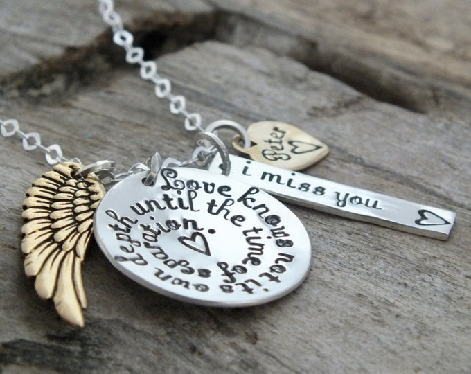 Personalized Jewelry, Custom gift, Sterling Silver, Sympathy Gift,Memorial Gift, Memorial Jewelry, Custom Necklace, Heart Necklace