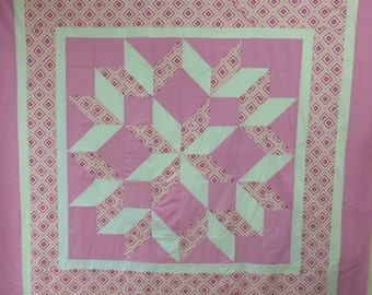 Carpenters Star Quilt - Paper Sewing Pattern