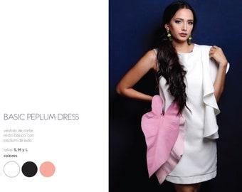 Basic Peplum Dress