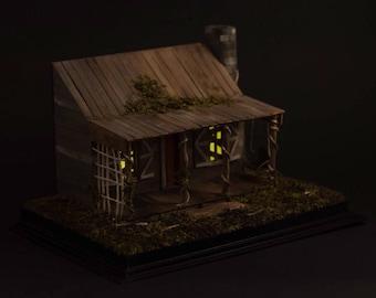 Dollhouse Miniature, Horror Diorama - The Evil Dead