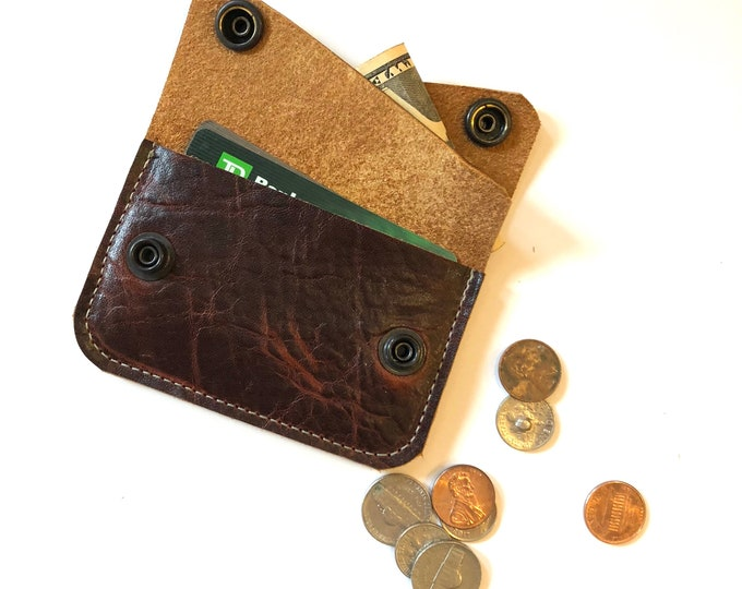 Double pocket RIVER wallet