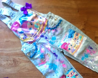 shimmer and shine overalls