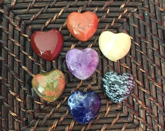 Chakra Stone Set - Chakra Crystals Stone Set - Healing Crystals and Stones- Chakra Gift