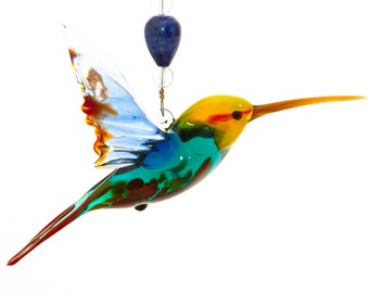 Glass Hummingbird Gift
