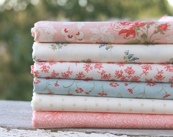 Victoria by 3 Sisters for Moda ~ 6 Fat Quarter Bundle