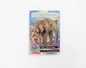 Animorphs, The Journey Chapter Book . Science Fiction for Young Adults . Elephant . K.A. Applegate