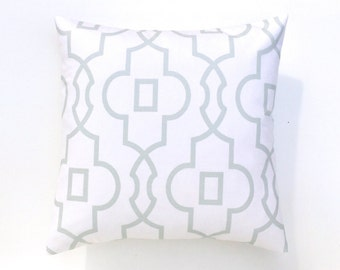 50% OFF Snowy Blue Bordeaux Pillow Cover. Decorative Pillow. 16X16 inches. Geometric Throw Pillow Cover.
